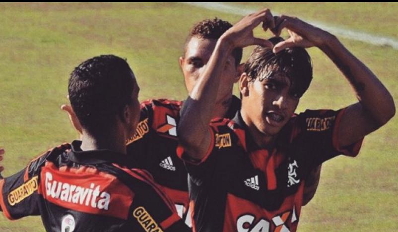 Destaque no título da Copinha, Paquetá é arma contra Flu. Foto: Flamengo
