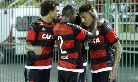 Nota dez! Flamengo evolui bem em Volta Redonda e goleia Portuguesa