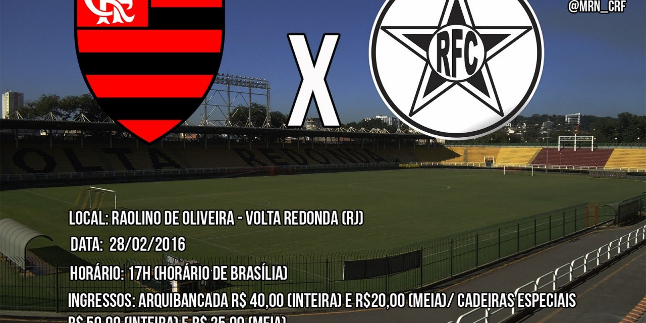 Flamengo enfrenta Resende em busca da terceira vitória seguida