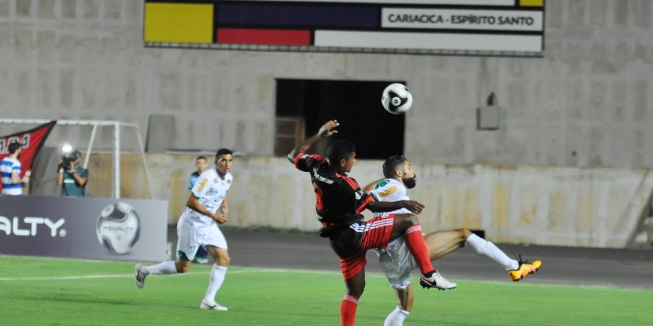 Flamengo vence e não convence