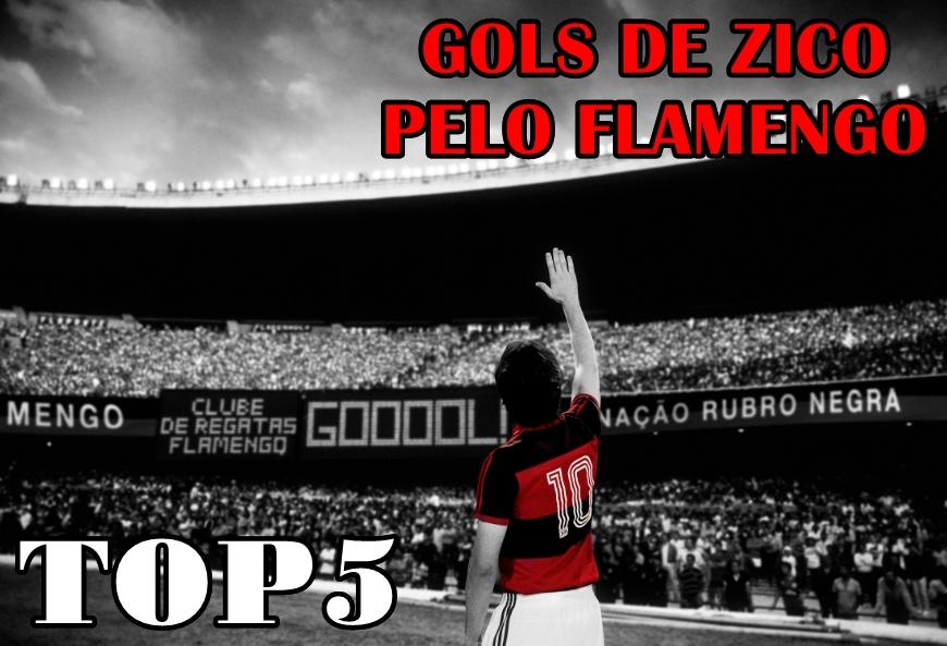#VlogdoPoeta – TOP 5 – ZICO – GOLS PELO FLAMENGO #Zico63