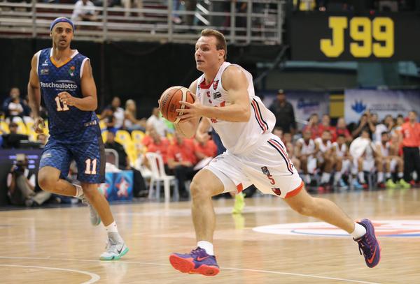 Rafa Luz foi o líder da equipe em assistências junto com Marquinhos (photo: Jose Jimenez-Tirado/FIBA Americas)