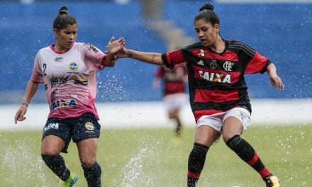 Sob forte chuva, Fla/Marinha e São José empatam no Brasileiro Feminino