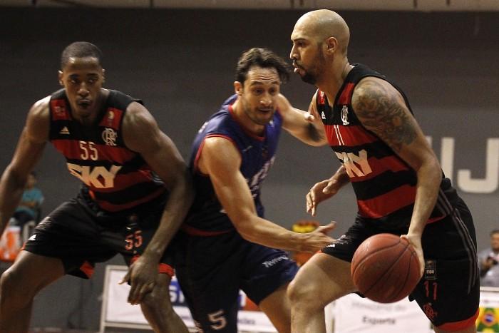 Marquinhos foi o cestinha do Flamengo com 16 pontos (Foto: Gilvan de Souza/Flamengo