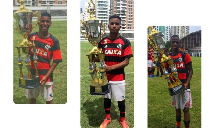 Flamengo conquista o Torneio Sebastião Leônidas em duas categorias