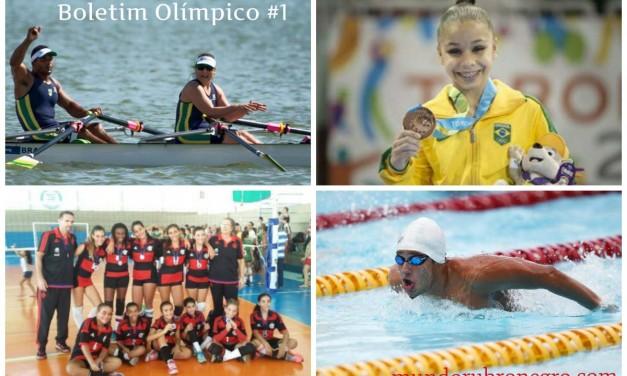 Boletim Olímpico #1 – Leia as últimas do Remo, Natação, Ginástica e Vôlei