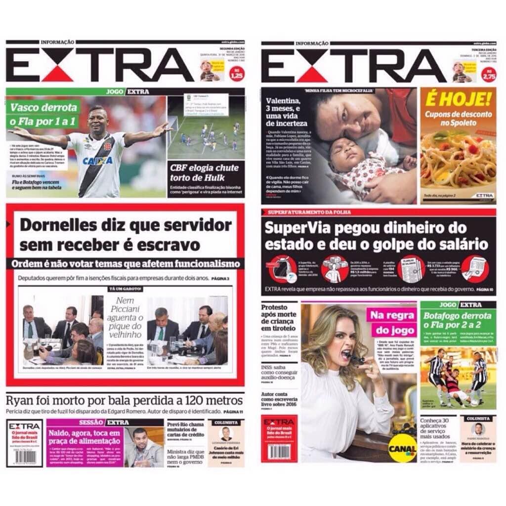 Capa de Extra
