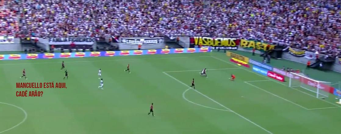 Jogada do primeiro gol