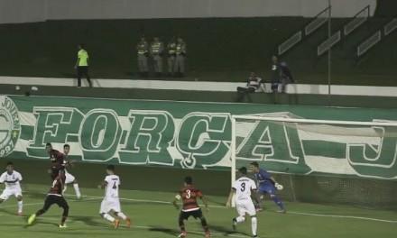 Com vantagem, Fla volta a enfrentar o Goiás na Copa do Brasil Sub-17