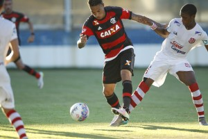 Guerrero marcou pelo segundo jogo seguido. Foto: Gilvan de Souza/Flamengo