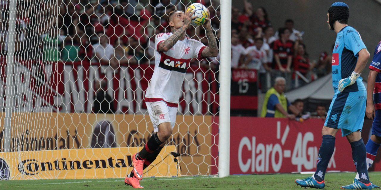 Flamengo sofre e perde para o Fortaleza na Copa do Brasil