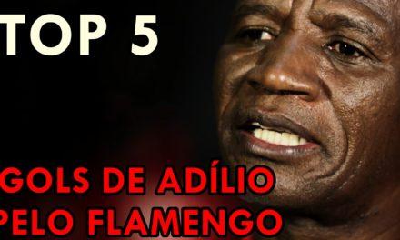 #VlogdoPoeta – TOP 5 – ADÍLIO – GOLS PELO #FLAMENGO