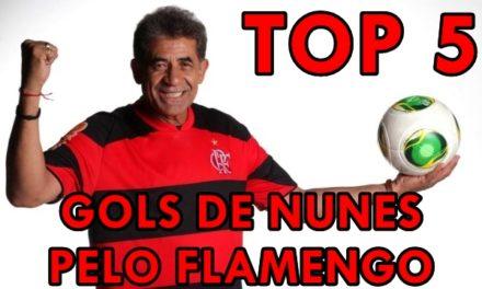 #VlogdoPoeta – TOP 5 – NUNES – GOLS PELO #FLAMENGO