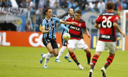 Após primeiro tempo bom, Flamengo diminui o ritmo e perde para o Grêmio