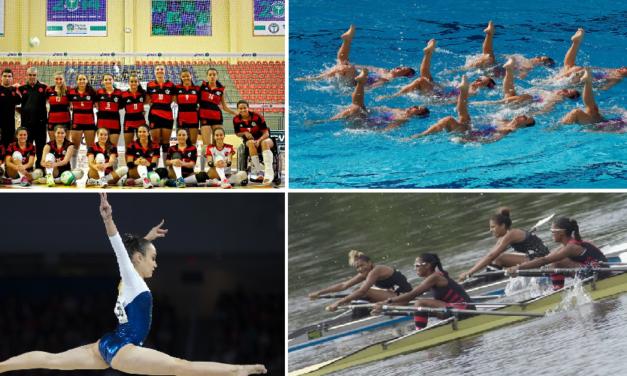 Boletim Olímpico #3 – Leia as últimas do vôlei, nado sincronizado, ginástica artística e remo