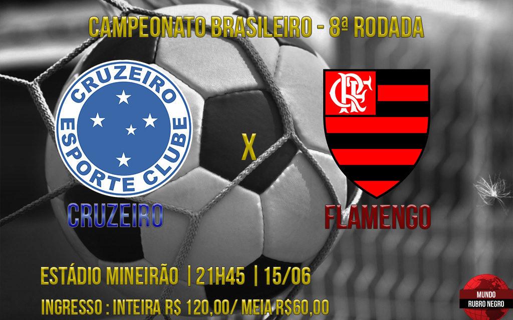 Fora de casa, Flamengo enfrenta desfalcado Cruzeiro