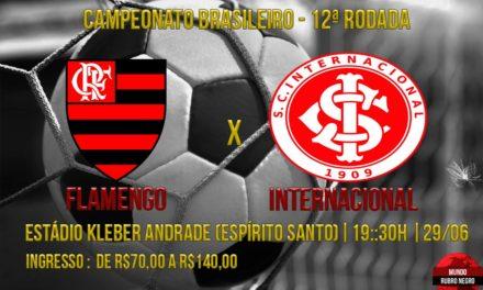 Mirando o G4, Flamengo enfrenta o Inter no Espírito Santo