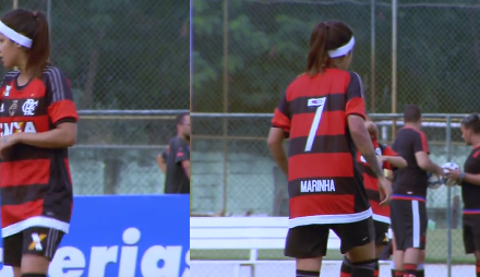 Entrevista com Gaby, do time feminino do Flamengo