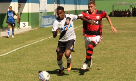 Fla fica no empate com o Vasco pela semifinal da Taça Rio Sub-20