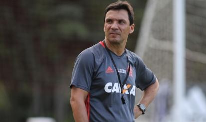 Zé Ricardo conhece bem os jogadores e espera retorno positivo Foto: Gilvan de Souza Flamengo