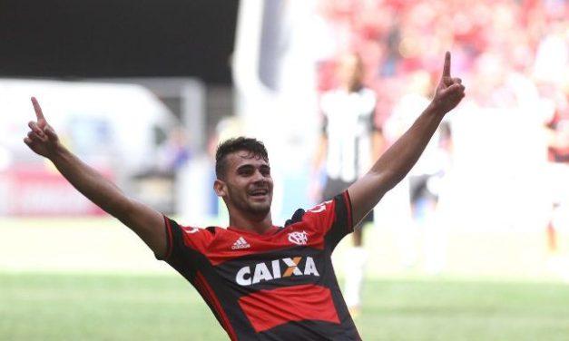No Mané Garrincha, Vizeu brilha e dá vitória ao Fla sobre o Atlético-MG