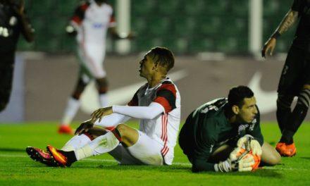 Fla joga mal e perde para o Figueirense no jogo de ida da Sul-Americana