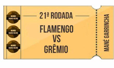 Ingressos – Flamengo x Grêmio