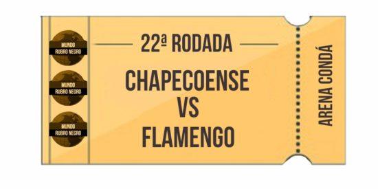 Ingressos – Chapecoense x Flamengo