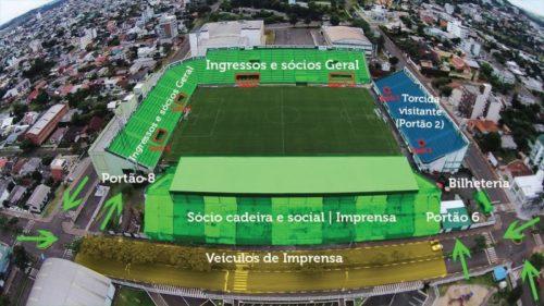 Créditos na imagem: Portal RedeComSC / Chapecoense