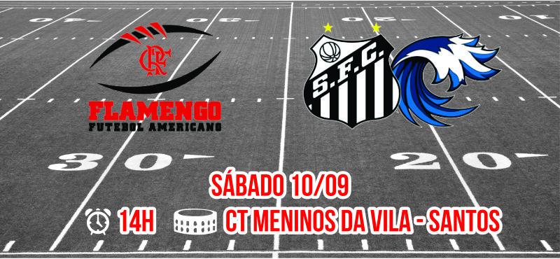 Invicto no Campeonato, Flamengo FA enfrenta o Santos Tsunami no próximo sábado