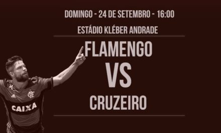 Flamengo volta a Cariacica para confronto contra Cruzeiro