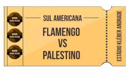 Ingressos – Flamengo x Palestino