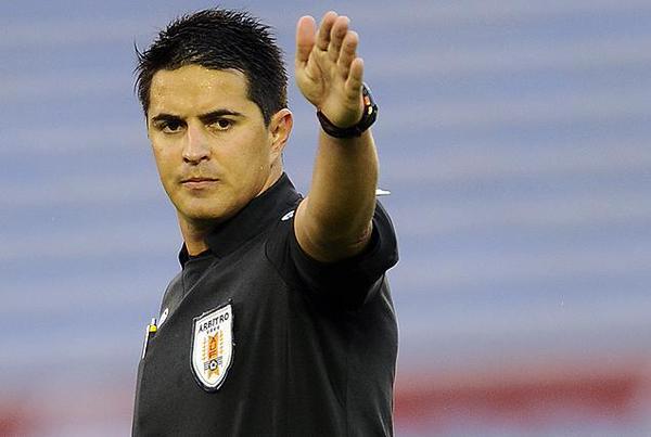 Uruguaio é o arbitro do confronto da Sul-Americana