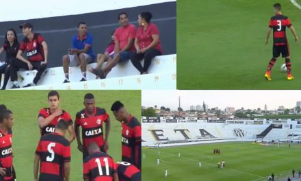 Flamengo fica no empate com a Ponte Preta pela Copa do Brasil Sub20