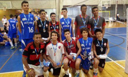 Flamengo vence Copa Minas Sub-17 de Vôlei Masculino
