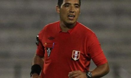 Peruano apita jogo de volta da Sul-Americana