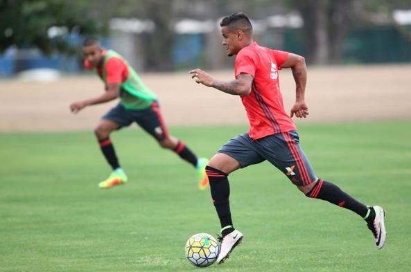 Treino. Foto: Gilvan de Souza / Flamengo