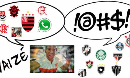 """Ouça #VaiZé, com Flávio Daher – Fluminense 1 x 2 Flamengo: ? """"O meu Mengão ganhou o Fla-Flu…"""""""