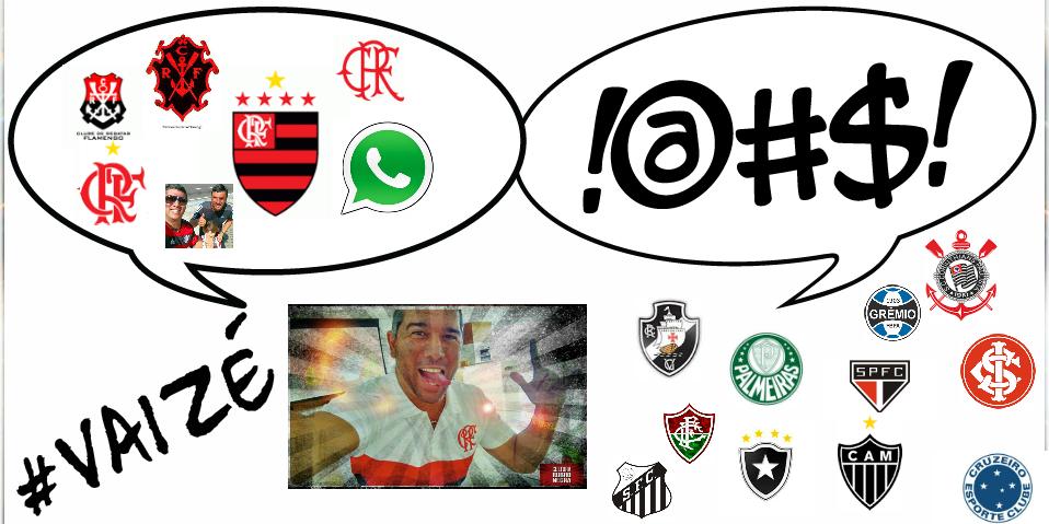 """Ouça #VaiZé, com Flávio Daher – Flamengo 2 x 0 Figueirense: """"Segura, Porco. Vai voar gordura!"""""""
