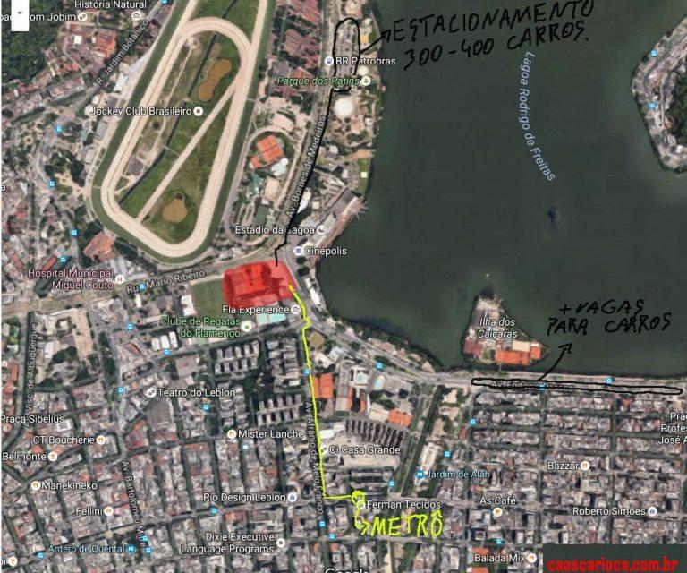 Site especializado em caos urbano do Rio de Janeiro aprova arena na Gávea