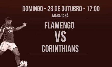 Flamengo x Corinthians   Hoje o Maracanã é nosso!