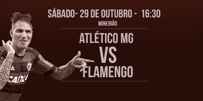 Após boa partida no primeiro turno, Fla volta a encarar o Atlético Mineiro