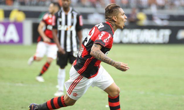 Atuações: Guerrero brilha com gol e assistência, Diego marca e Fla empata no Mineirão