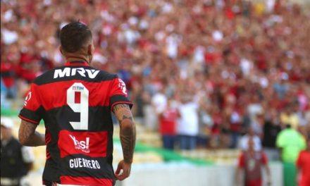 Guerrero tem temporada mais goleadora no Brasil