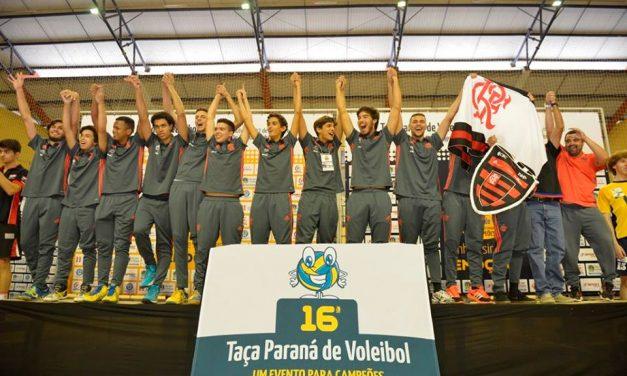 Vôlei do Fla vence em duas categorias na Taça Paraná