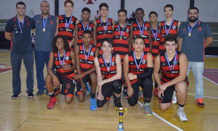Sub14 do basquete do Flamengo é campeão sobre o Vasco