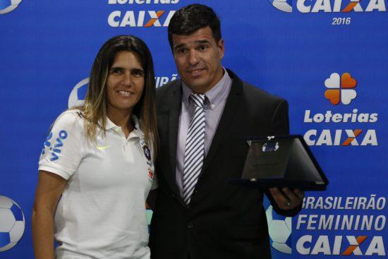 Emily Lima e Tenente Abrantes. Foto: BRUNO KELLY/ALLSPORTS