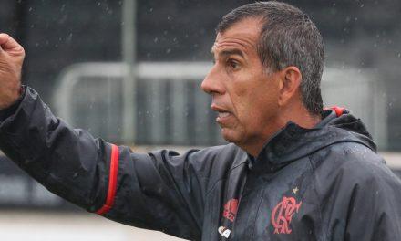 """Gilmar Popoca celebra primeiro triunfo na Copa RS: """"vitória com a grandeza do Flamengo"""""""