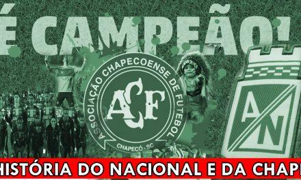 #VlogDoPoeta HISTÓRIA DO ATLÉTICO NACIONAL E CHAPECOENSE #FORÇACHAPE