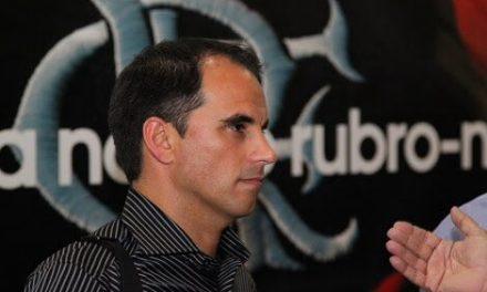 """Rodrigo Caetano: """"Fla só vai gastar em reforços se vender alguém"""""""